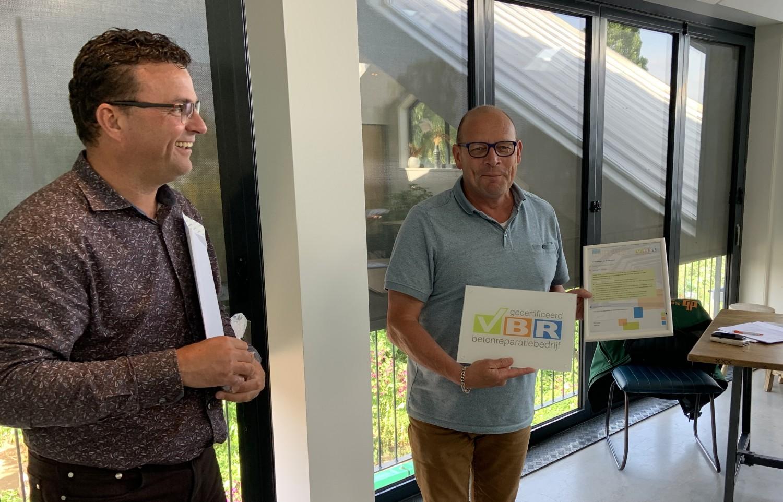 VBR certificaat De Boer en De Groot